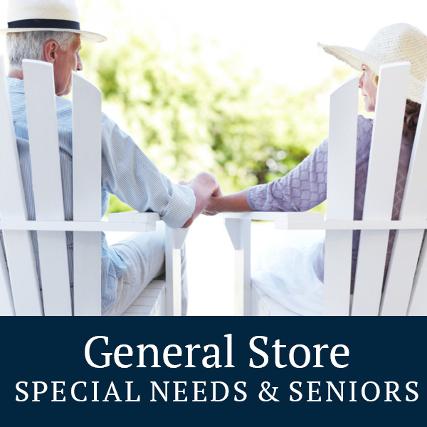 General store special needs and seniors
